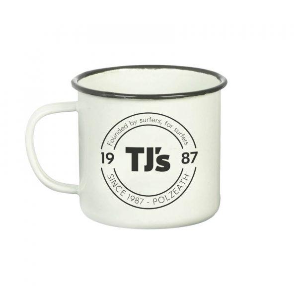 camping mug cream